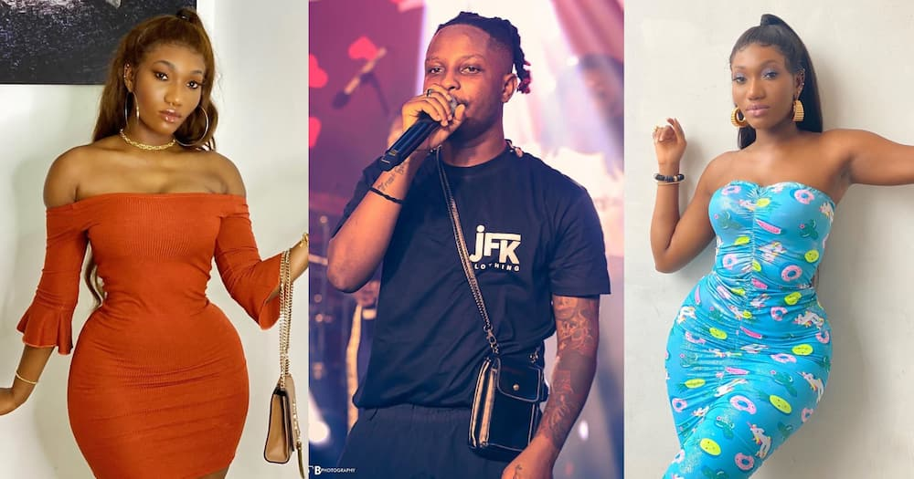 Kelvyn Boy and Wendy Shay resolve beef (Photo)