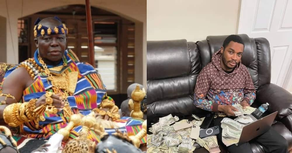 Social media users react after Otumfuo's Nkwantakesehene ordered Twene Jonas to apologise to him