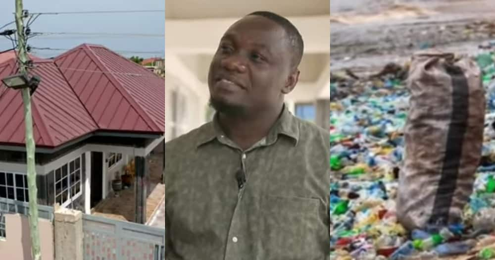 Nelson Boateng: Ghanaian innovator builds house from plastic waste