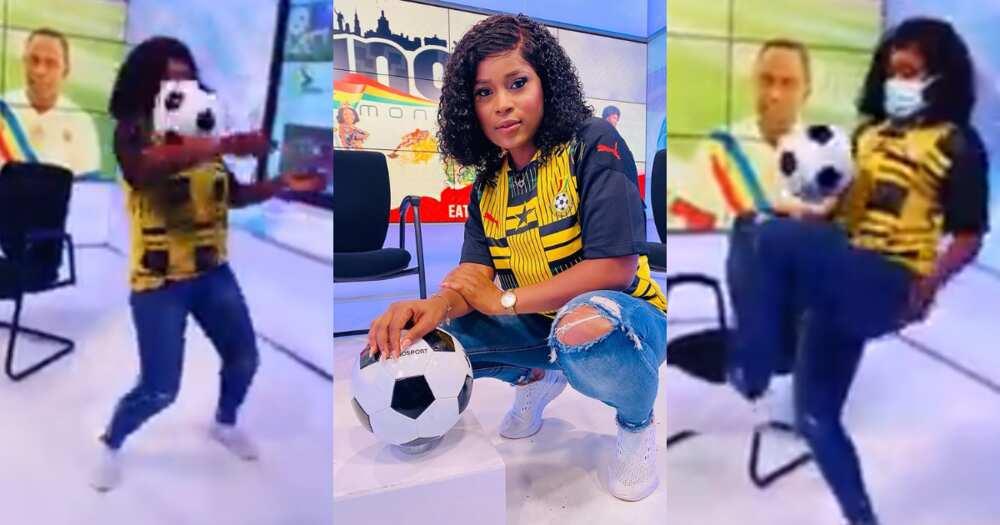 Berla Mundi: TV3 Presenter Displays Football Skills in new Video