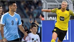 Luis Suarez sends top European striker big message after sending his son a copy of his shirt as birthday gift
