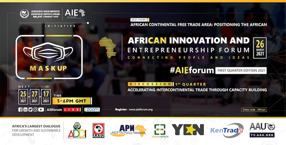 AIEforum 2021 FIRST QUARTER EDITION comes off on March 26
