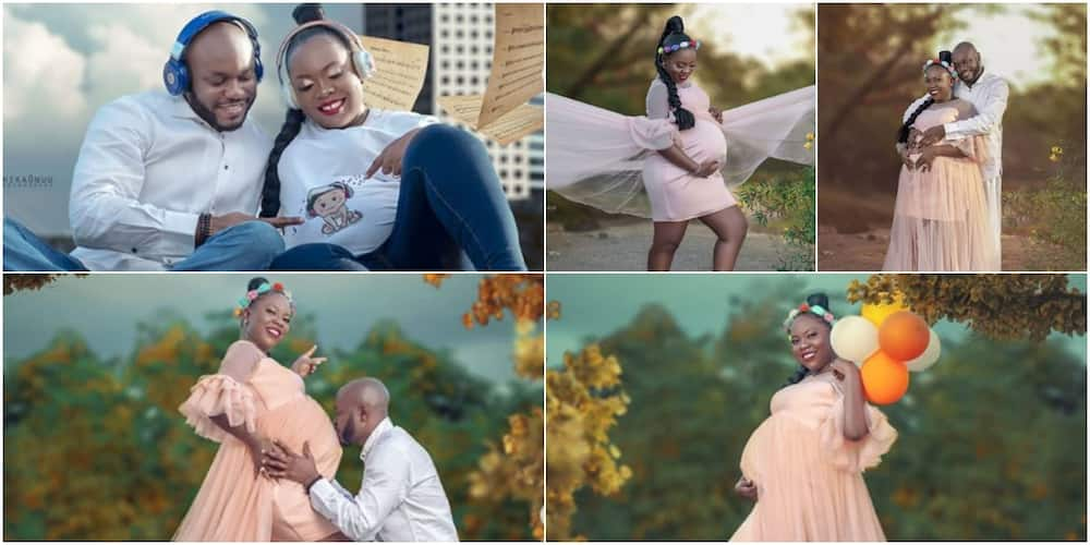 Couple welcomes baby after 8 years of waiting, shares cute photos of baby bump