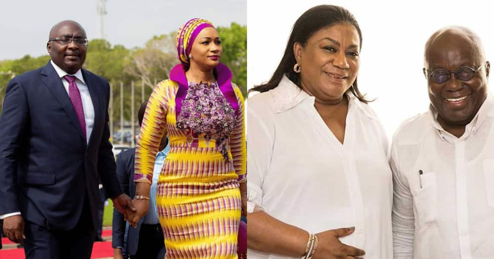 5 things we have gathered about the 'salaries' for Rebecca Akufo-Addo and Samira Bawumia
