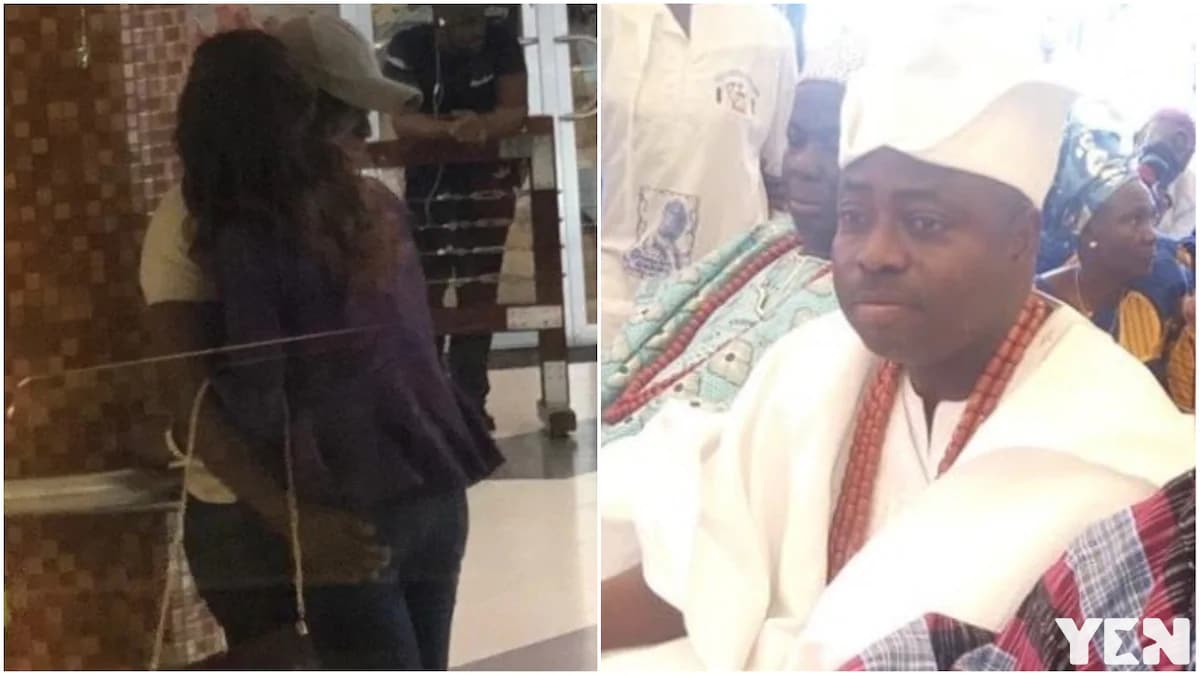 Nigerian man reportedly arrested for kissing king's daughter in public