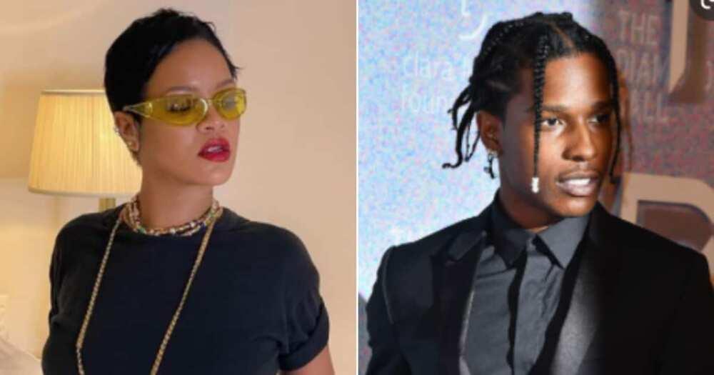 Rihanna, A$AP Rocky, Met Gala, Balenciaga Couture outfits