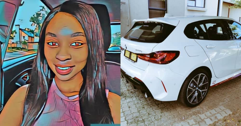 Lady Leaves SA Super Jealous After Spoiling Herself With a Sporty BMW