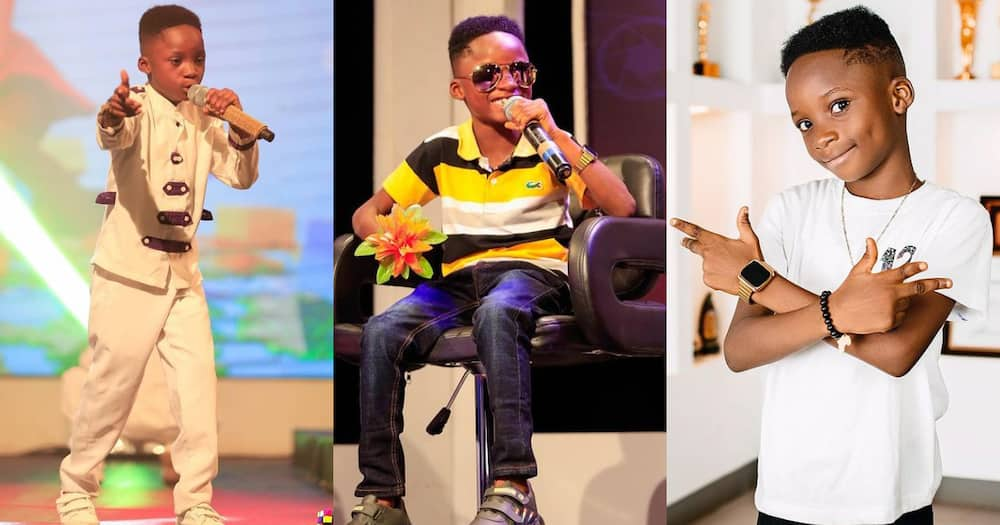 Akwadaa Nyame: 2021 Talented Kids Winner Reveals his Father Rejected the Mother when she was Pregnant with him