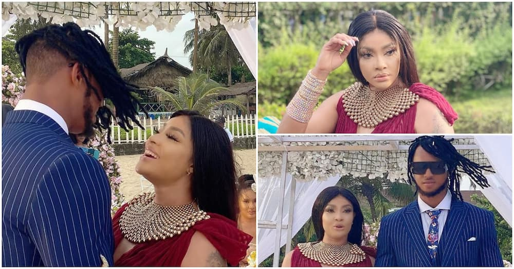 Angela Okorie unveils her hubby as she officially ties the knot few days after getting engaged (photos)
