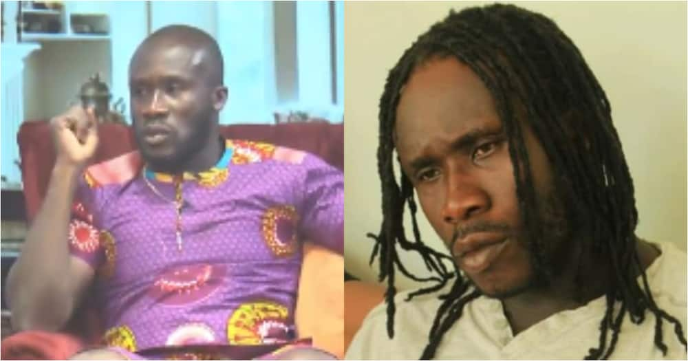 Asamoah Gyan finally meets Ras Nene who has been using his name to collect all the ladies (photo)