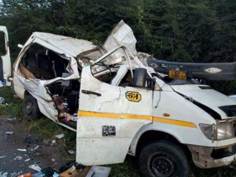 Kasoa-Cape Coast highway: 5 people dead; 7 others injured in accident at Gomoa Adam