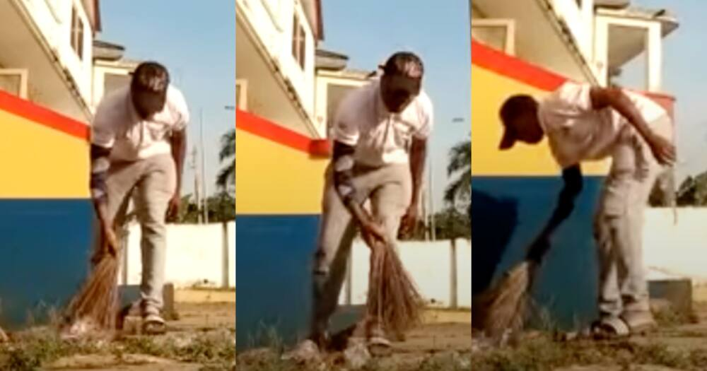 Sports journalist forced to sweep Hearts of Oak secretariat after losing bet