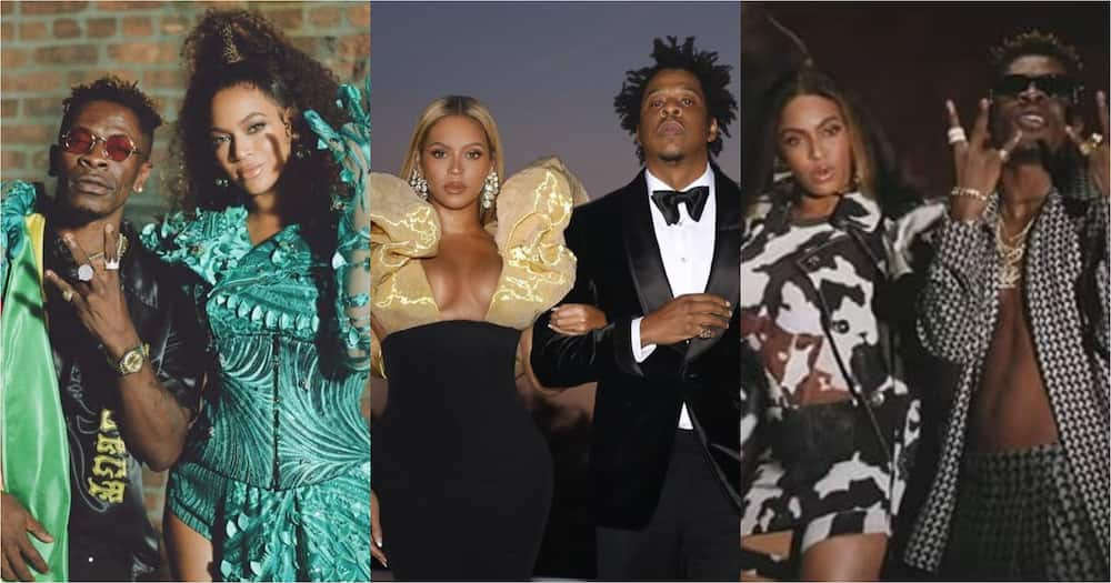 Shatta Wale, Beyonce and Jay-Z