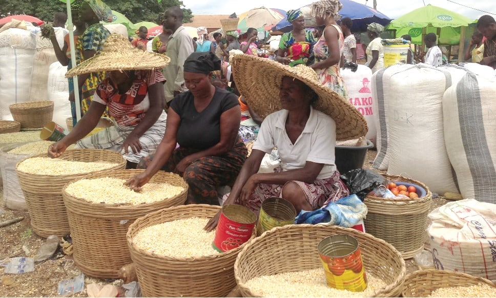 Price of maize increase by 300 percent at Techiman Central Market