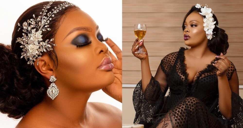 Asare Bernice: Kumawood actress stuns fans with gorgeous wedding videos