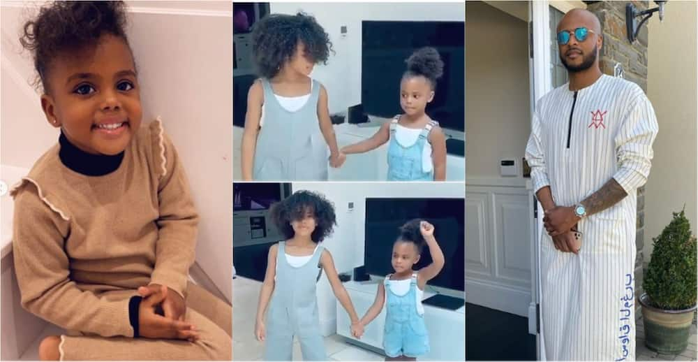André Ayew's daughters prove dance skills in new video to celebrate him on Father's Day