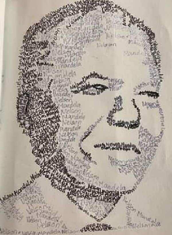 Madiba art showcases 12-year old's amazing