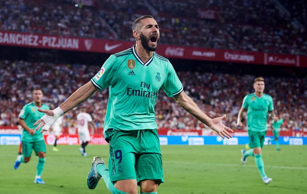Real Betis vs Villarreal: Benzema's brace inspires Los Blancos to 34th La Liga title