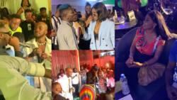 9 beautiful videos pop up as Shatta Wale, Medikal, Nana Aba, Kuami Eugene, Wendy Shay, others throng Mr Drew's plush 25th birthday party