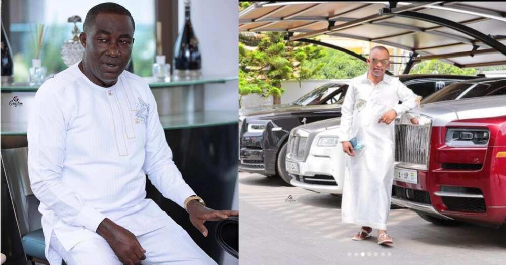 Fadda Dickson drops 7 photos from Osei Kwame Despite's garage; lines up his expensive cars