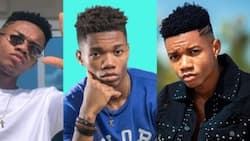 You eh. Your own dey come: KIDi 'cries' over funny old photo; fans laugh at him
