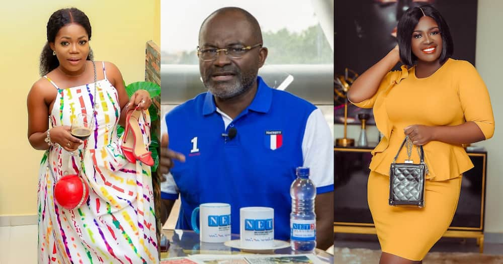 Mzbel drops 1st reaction after Kennedy Agyapong dealt with Tracey Boakye