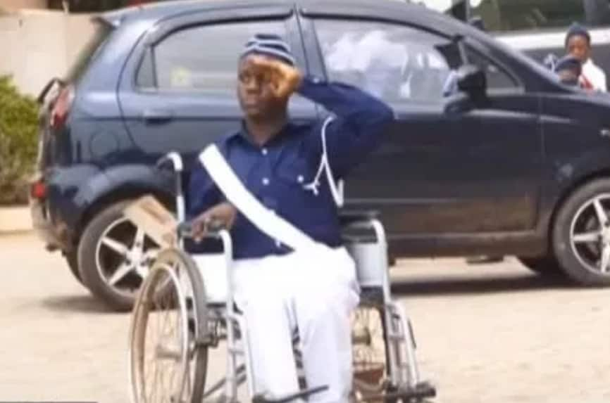 Meet cerebral palsy teen Herman Ashong who is conquering disability