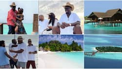 Travel Explore: 6 Islands in Maldives Obi Cubana, Wife and Friends went to destress after Oba