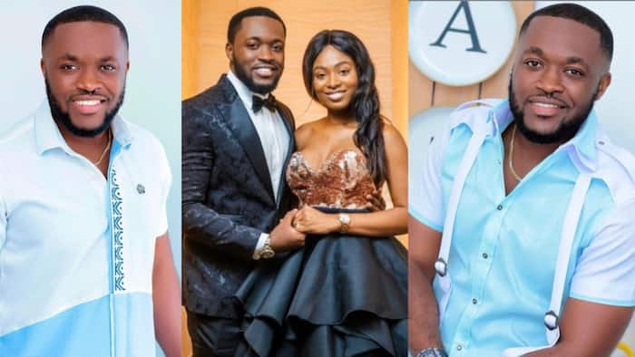 My love and king - Tracy pens love message to her hubby Kennedy Osei to celebrate his b'day