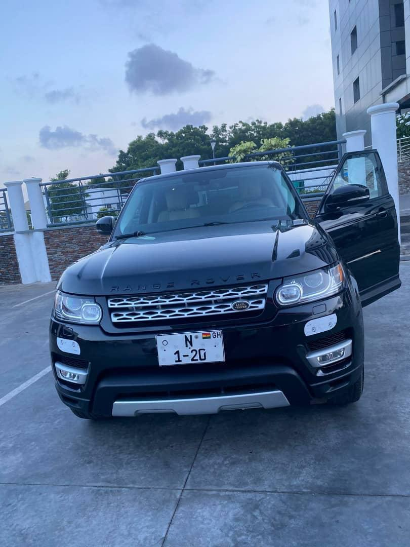 Nana Aba Anamoah acquires customised number plate for her Range Rover (Photos)