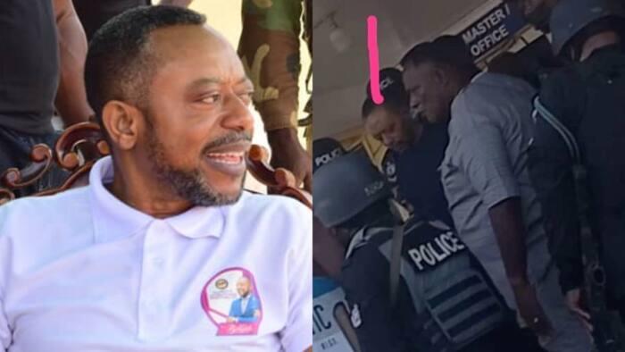 Video drops as police storm Apostle Owusu Bempah's church to arrest him