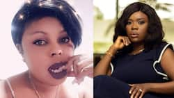 Delay fires in new video after Afia Schwar's attack; Asamoah Gyan's wife, others react to her words