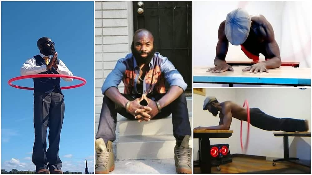 Nigerian man breaks Guiness World Records with his special hola hopping exercise