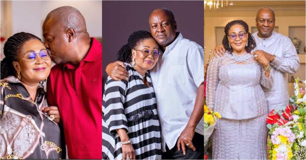 Mahama pens heartwarming message to wife Lordina as they mark 29th marriage anniversary