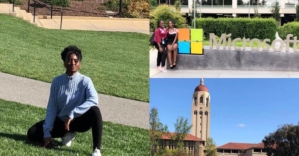 Ghanaian girl studying at Stanford gets straight PhD from Carnegie & wins offer from Microsoft