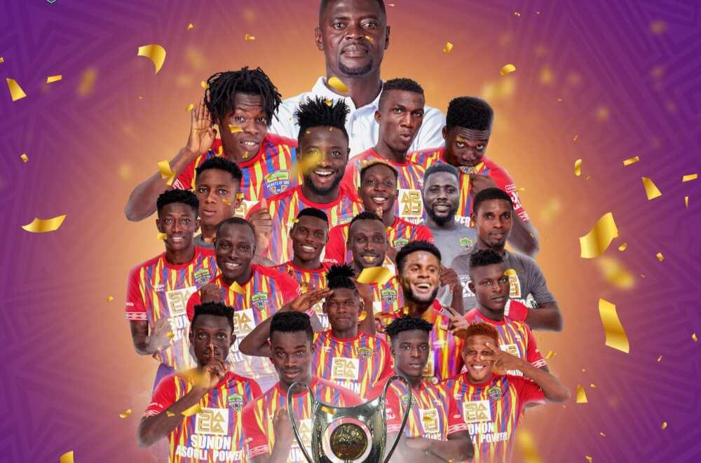 Hearts of Oak pocket GHC 250,000 for winning Ghana Premier League