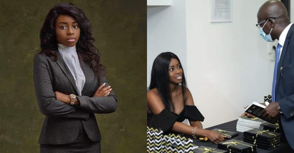 Adwoa Amoako Adjei: 26-year-old Ghanaian lawyer launches 1st novel titled Mixed Up