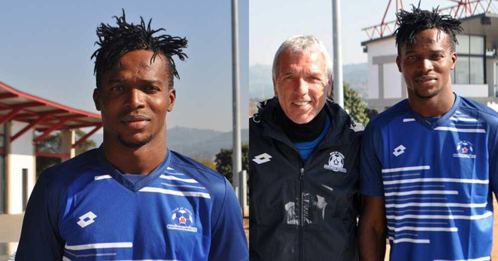Ghanaian striker Richard Zumah joins South African club Maritzburg United