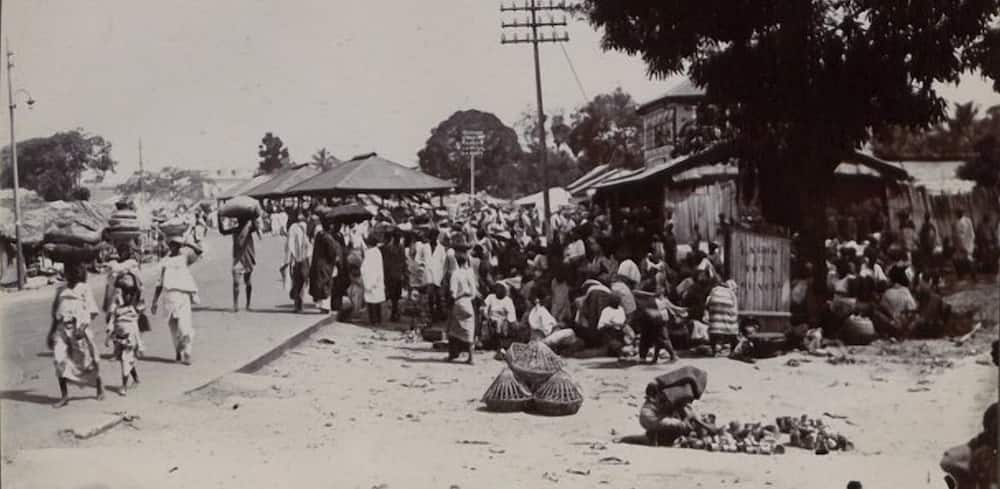 Another market scene in the state. Photo source: Google Arts & Culture