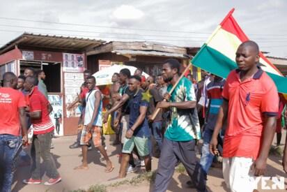 10 photos from mammoth Adenta-Madina demo