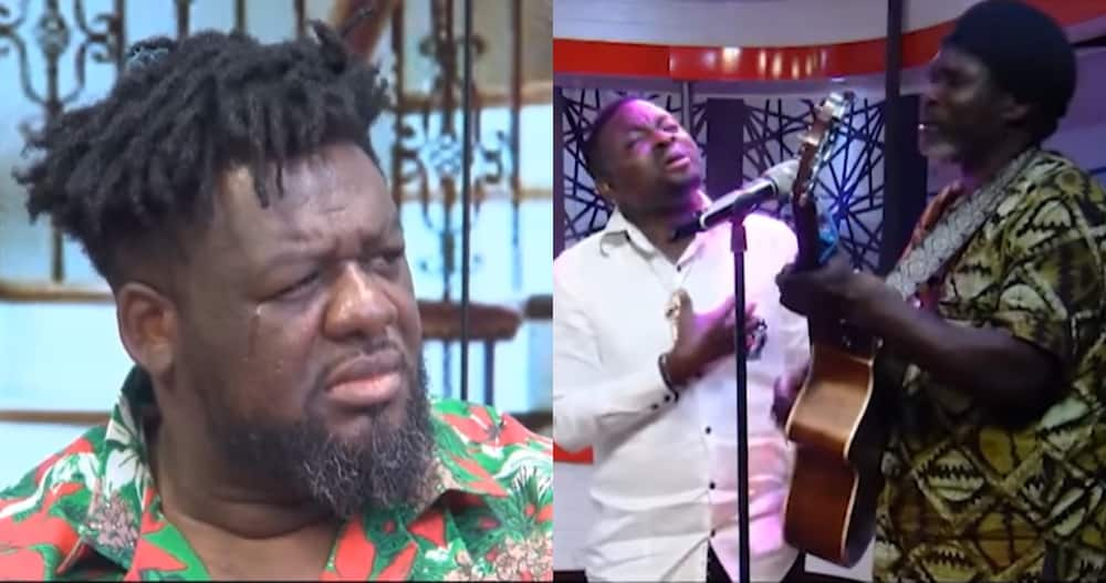 Bulldog Cries on Nana Ama McBrown's United Showbiz During Song Performance About Heaven by Brother Sammy and Mark Anim