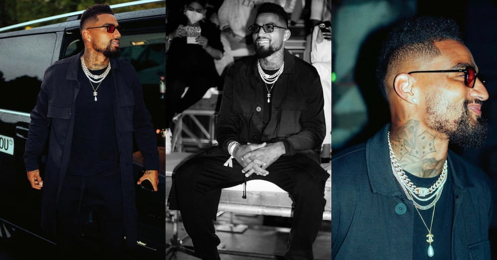 Kevin Prince-Boateng dazzles at About You Fashion Week in Germany