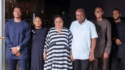 I am convinced I chose the best life partner and father - Lordina to John Mahama on Father's Day