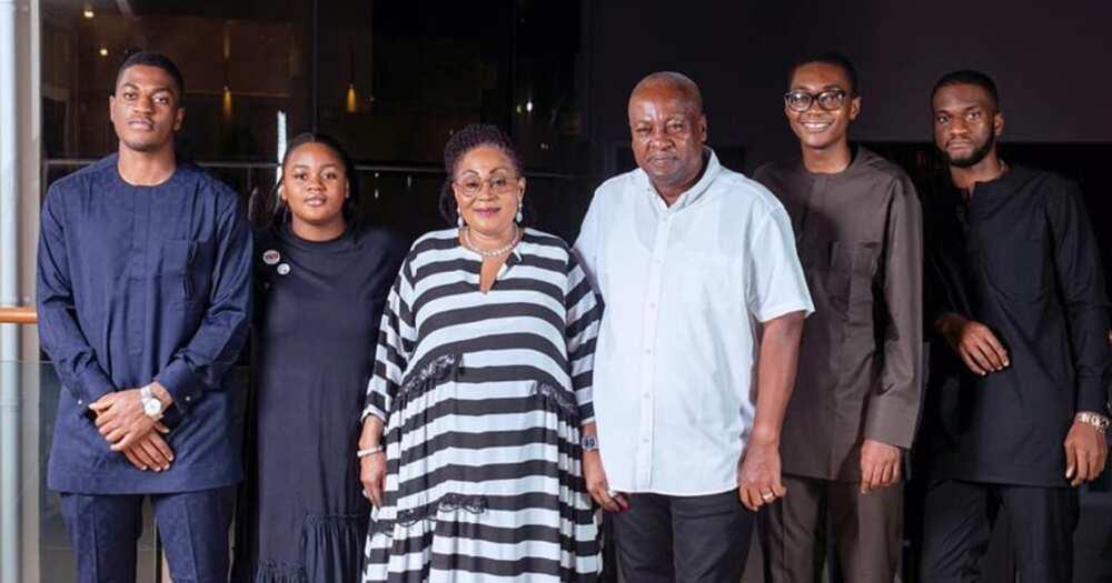 Lordina Mahama pens sweet message to John Mahama to celebrate him on Father's Day