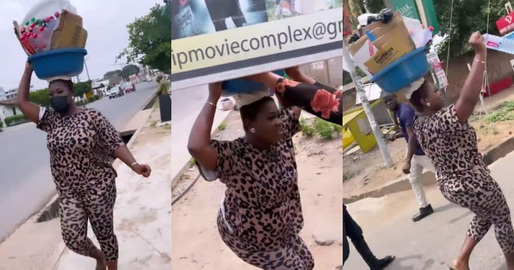 Video drops as Sista Afia storms streets as 'pure water' seller to give freebies to fans