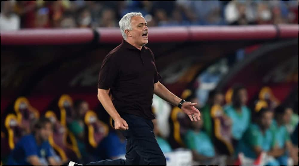 Jose Mourinho Produces Wild Celebrations As Roma Get Last-Gasp Winner in 1,000th Game As Boss
