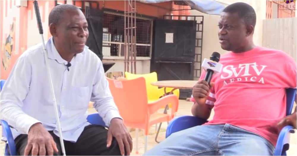 I suspect my wife killed my nephew, made me blind over our business - Visually impaired Ghanaian man