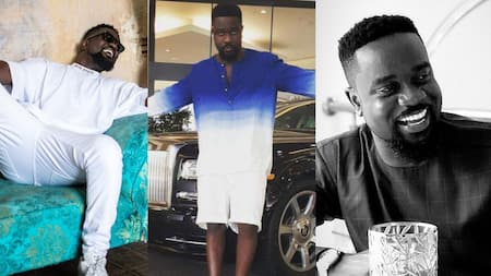 Sarkodie discloses he uses 'nkuto' for his skin; sparks conversations on product