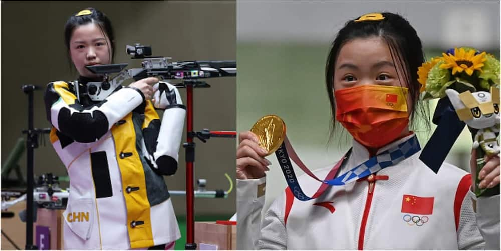 Qian Yang Wins First Gold Medal At Tokyo 2020 Olympic Games For China
