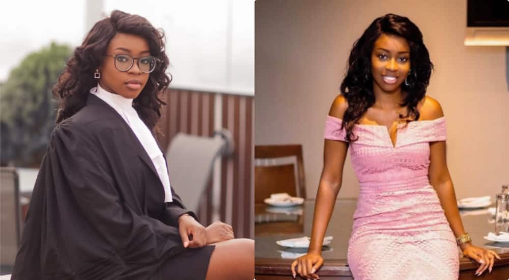 Meet Adwoa Amoako Adjei a young Ghanaian lawyer & book author with many records
